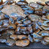 Ambar Azul dominicano